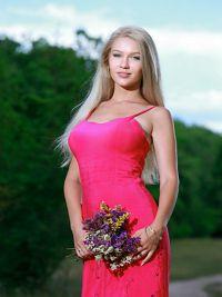 Model Anastasia i Norr Amsberg